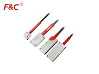 F&C ML series Array Optical Fiber Tube Through Beam Reflection Fiber Sensor